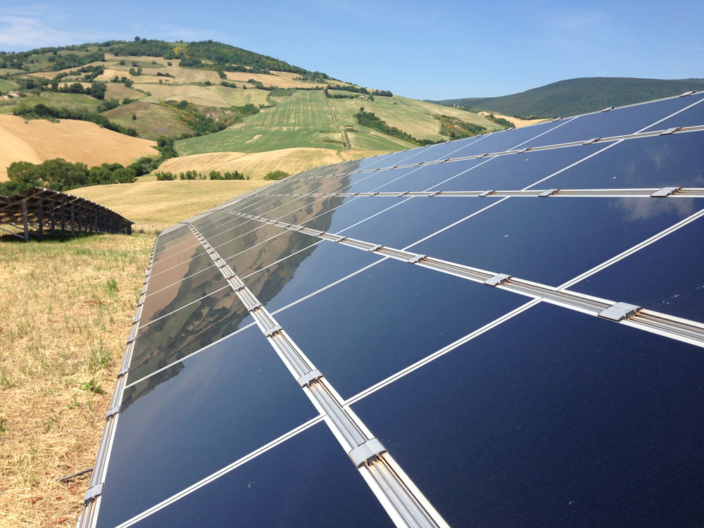 ERG enters the solar business.