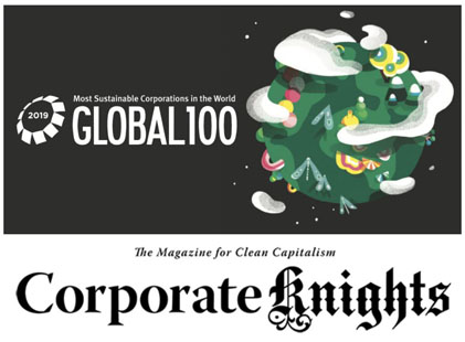 Corporate Knights Global 100 Index: ERG al 16° posto e prima fra le Italiane